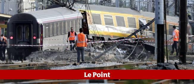 Photo prise en gare de Brétigny-sur-Orge, samedi matin.