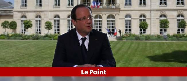 """Le président de la République a annoncé que la """"reprise (était) là"""" lors du traditionnel entretien télévisé du 14 Juillet."""