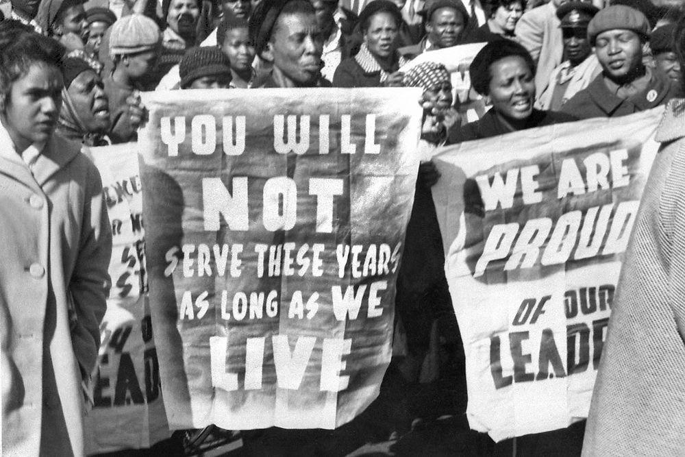 EN IMAGES Nelson Mandela Une Vie De Combats 1918 2013