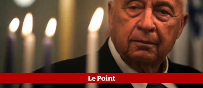 Ariel Sharon, le 27 décembre 2005.