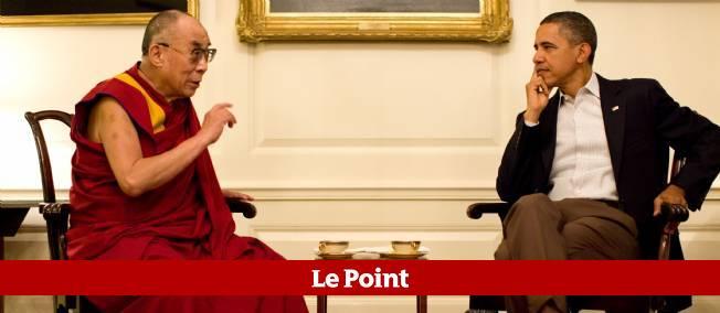 Le dalaï-lama a rencontré le président américain Barack Obama à la Maison-Blanche.