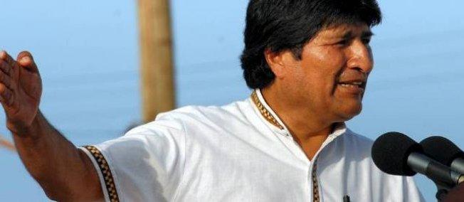 Le président bolivien, Evo Morales.