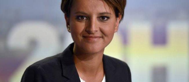 Najat Vallaud-Belkacem, ministre de l'Éducation nationale, dimanche soir sur TF1.