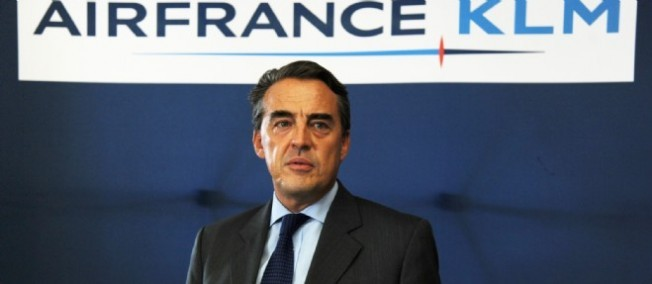 Alexandre de Juniac, le P-DG d'Air France-KLM.