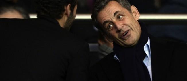 Nicolas Sarkozy a été élu samedi président de l'UMP.