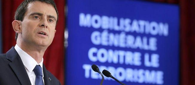 Manuel Valls, le Premier ministre, a annoncé ses mesures pour lutter contre le terrorisme.