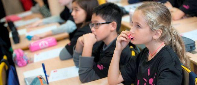 L'avenir des enfants dépend en partie de leur optimisme (photo d'illustration).