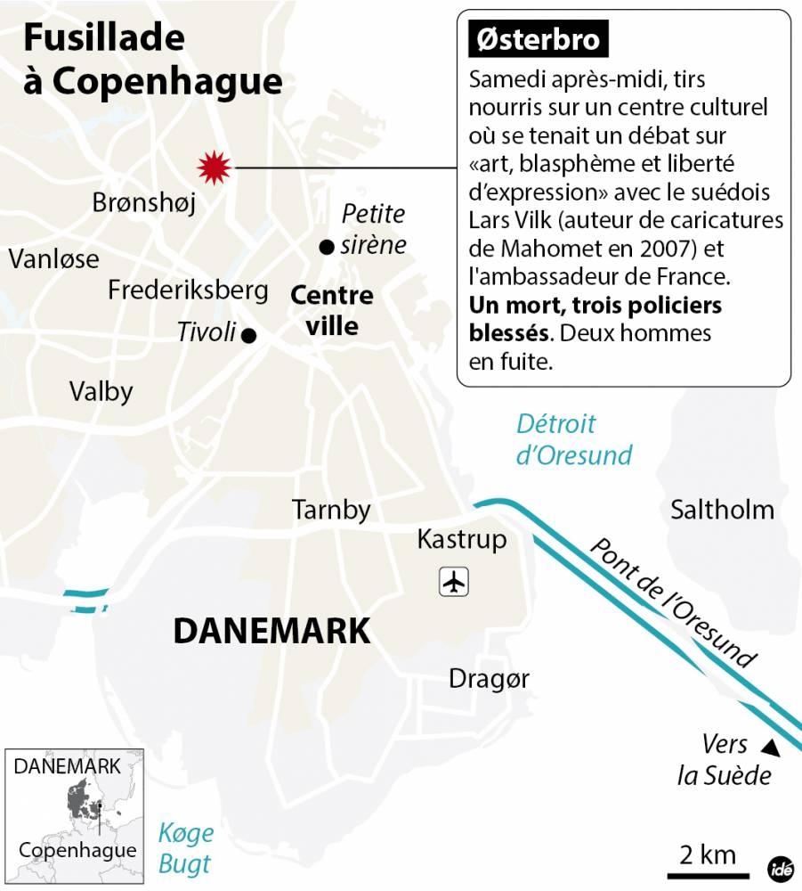 Les événements à Copenhague ©  Idé
