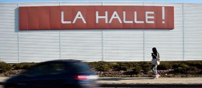 Un magasin La Halle à Chantepie, près de Rennes.