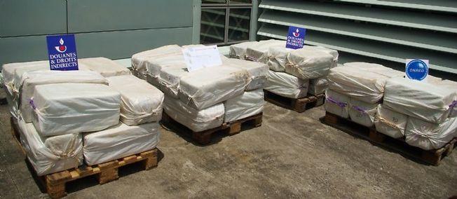 Saisie record de cocaïne au large de la Martinique.