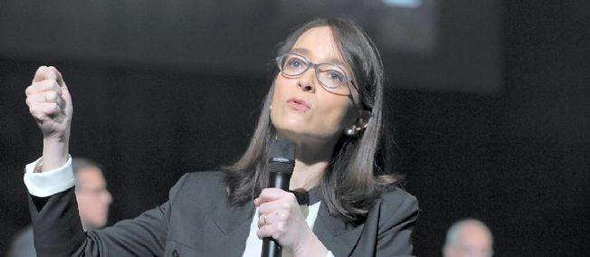 Delphine Ernotte-Cunci, ici en mars 2015, deviendra présidente de France Télévisions en août.
