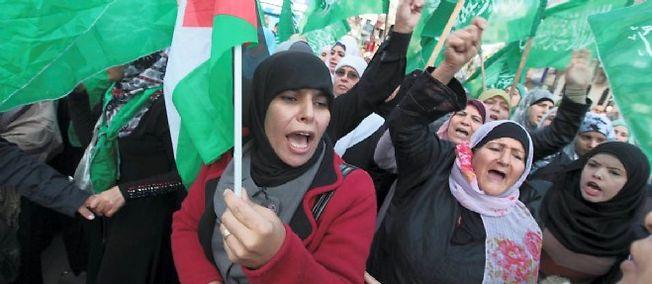 Photo d'illustration. Une manifestation à Ramallah, en novembre 2012.