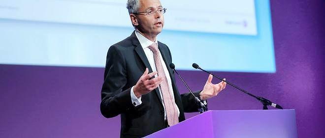 Michel Combes à Paris, le 26 mai 2015.