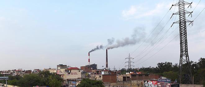 La capitaleNewDelhi est l'une des villes les plus polluées au monde.