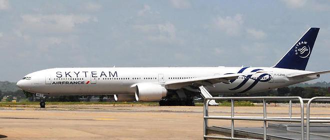 Une fausse bombe a été découverte à bord de l'avion d'Air France. Image d'illustration.