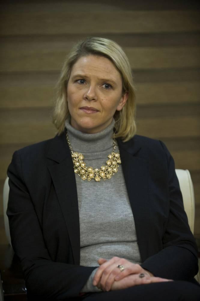 Norwegian Migration and Integration Minister Sylvi Listhaug in T © Kerem Kocalar AFP