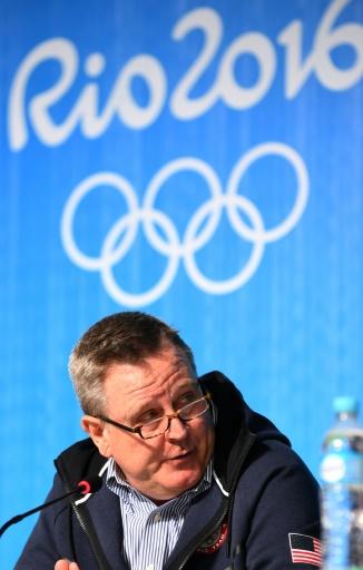 Le chef du Comité olympique américain Scott Blackmun, le 5 août 2016 à Rio de Janeiro © GOH CHAI HIN AFP/Archives