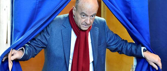 Alain Juppé a voté à Bordeaux à 10 h 30.