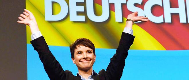 Frauke Petry a annoncé qu'elle ne sera pas tête de liste aux élections.