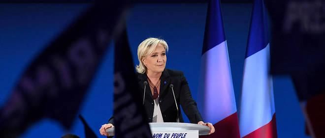 Des journalistes se sont vu interdire de suivre Marine Le Pen.