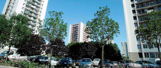 La cité des Courtilles à Saint-Denis.