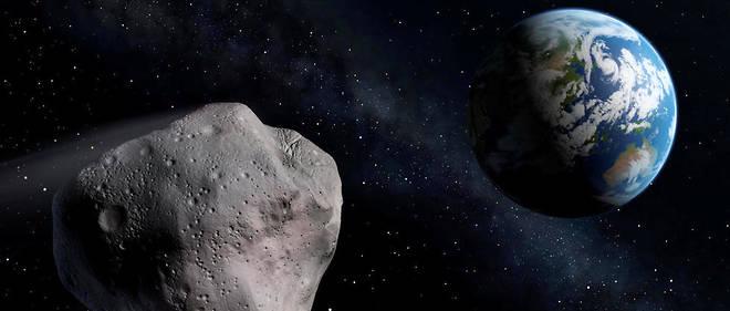 """Résultat de recherche d'images pour """"Un énorme astéroïde s'approche de la Terre"""""""