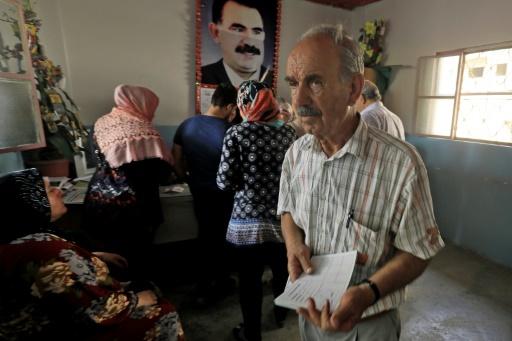 Αποτέλεσμα εικόνας για syrie les kurdes elections