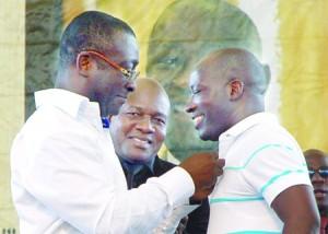 Gervais Coulibaly, président de Cap Unir pour la Démocratie et le Développement (Cap UDD) tient à la libération de Charles Blé Goudé tout comme... (Ph: d'archives)