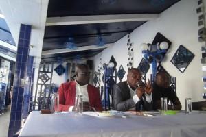 Mes Blédé Doha, Bobré Félix et Gbougnon Serges (Ph: Dr)