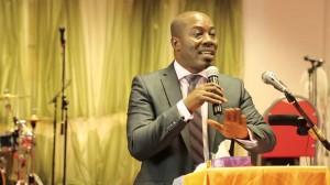 Richard Dakoury de l'Alliance des jeunes patriotes pour le sursaut national (Ph: Dr)