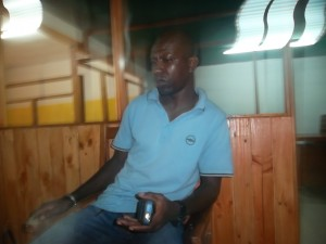 Le chauffeur du véhicule, Sékou Diarra