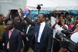 Pascal Affi N'Guessan, Président du FPI (Ph: Dr)