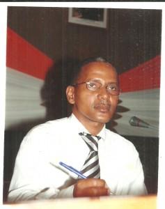 Rymer Bright, président du Collectif national des victimes des déchets toxiques de Côte d'Ivoire (Ph: Dr)