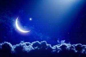 Le croissant lunaire a été observé, ce dimanche en Côte d'Ivoire (Ph: Dr)