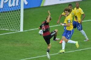 L'un des buts de la très large victoire de l'Allemagne contre le Brésil (7-1)