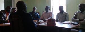 Drissa Bamba sous le feu des questions des journalistes