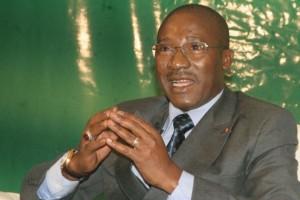 Le Garde des Sceaux, ministre de la Justice, des Droits de l'homme et des libertés publiques, Gnénéma Mamadou Coulibaly (Ph:Dr)