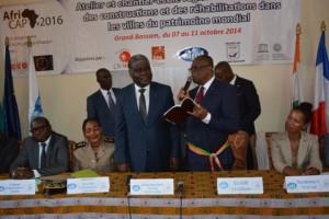 Robert Beugré Mambé, gouverneur du District Autonome d'Abidjan et 1er vice-président de l'Association Internationale des Maires Francophones (Ph:Dr)