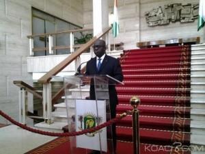 Marcel Amon Tanoh, directeur de cabinet du chef de l'Etat (Ph:Dr)
