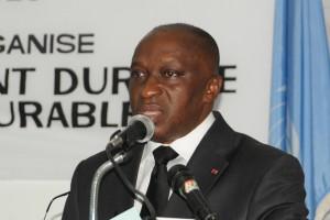 Docteur Rémi Allah-Kouadio, Ministre de l'Environnement et du Développement Durable (Ph :Dr)