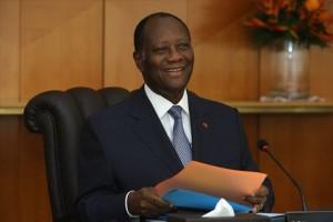 Alassane Ouattara, le Président de la République a renouvelé sa confiance à l'équipe gouvernementale.