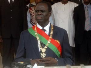 Michel Kafando, Président de transition du Burkina Faso