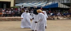 Les fidèles musulmans n'ont pas voulu se faire conter la célébration de la naissance du prophète Mahomet.