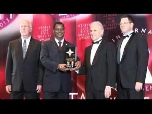 Légende : Coulibaly Pierre Djibril, inventeur du premier logiciel de gestion universel, Nexpro U.B.S.