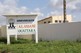 l'Université Alassane Ouattara de Bouaké, paralysée