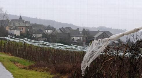 En Limousin, l'usage des pesticides dans les vergers a mobilisé des riverains qui, via l'association Allassac ONGF, ont multiplié les actions afin de révéler les dangers pour la santé et l'environnement. Photo Pascal Perrouin / La Montagne - tous droits reserves