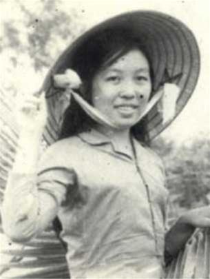 Данг Тхюи Чам на фронте