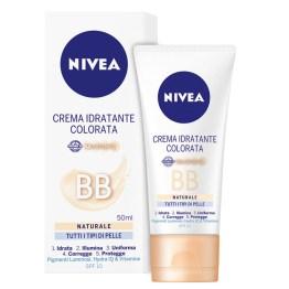 NIVEA BB Crema Idratante Colorata Naturale tutti i tipi di pelle 50ml