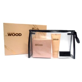 Set/confezione donna DSQUARED SHE WOOD edp 50ml + body lotion 100ml + beauty