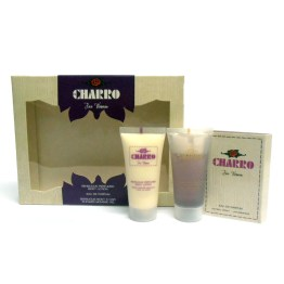 Set/confezione donna EL CHARRO For Woman edp 1,5ml + body lotion 30ml + shower gel 30ml